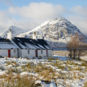 Glen Coe, Winter, Scotland