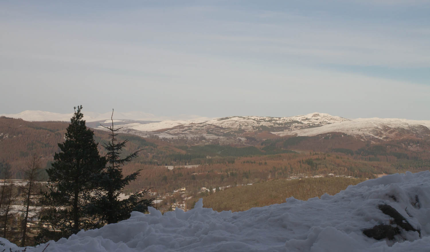 Perthshire, Birnham Hill, Scottish Travel Blog